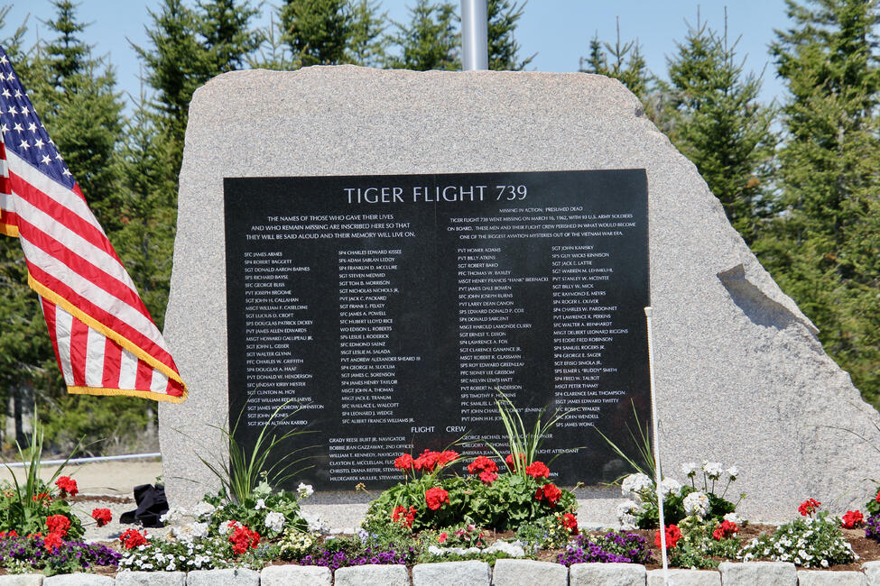 Flying Tiger Line Flight Monument